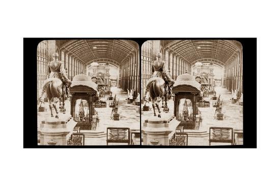 Galerie D'Iena, Exposition Universelle, Paris, 1878-Etienne Neurdein-Giclee Print