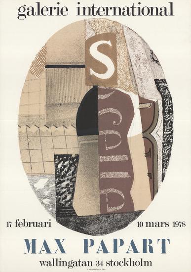 Galerie International-Max Papart-Art Print