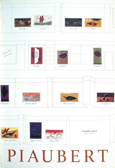 Galerie Iolas-Jean Piaubert-Art Print