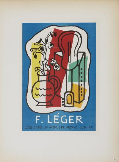 Galerie Louis Carre-Fernand Leger-Collectable Print
