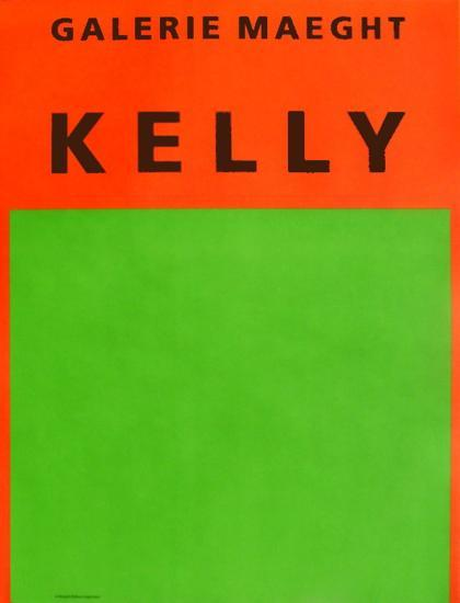Galerie Maeght, 1964-Ellsworth Kelly-Collectable Print