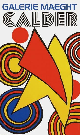 Galerie Maeght, 1973-Alexander Calder-Collectable Print