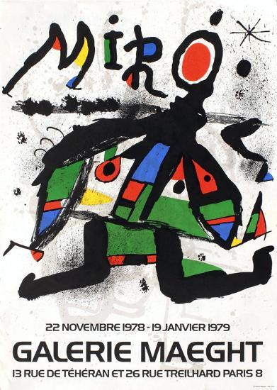 Galerie Maeght, 1979-Joan Mir?-Collectable Print
