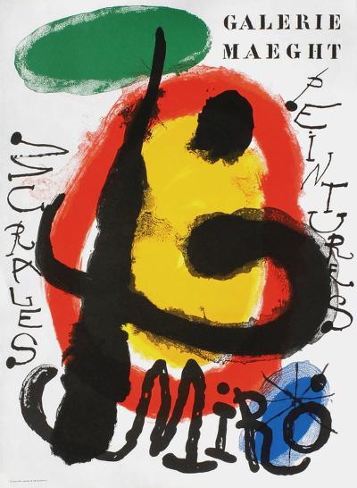 Galerie Maeght, Peintures Recentes-Joan Mir?-Collectable Print