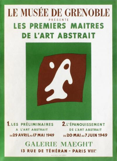 Galerie Maeght-Jean Arp-Collectable Print