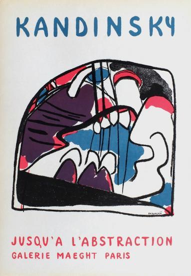 Galerie Maeght-Wassily Kandinsky-Collectable Print