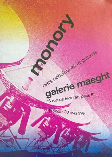 Galerie Maeght-Pierre Monory-Collectable Print