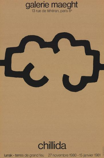 Galerie Maeght-Eduardo Chillida-Collectable Print
