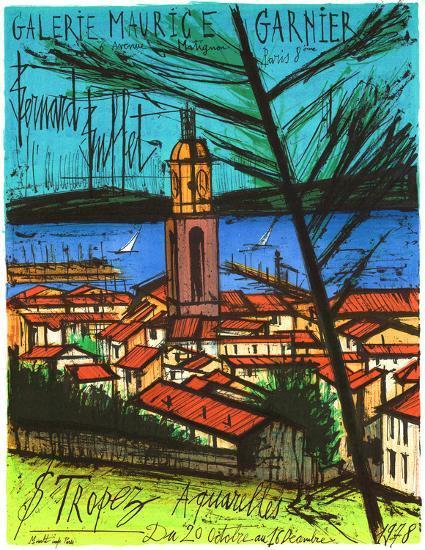 Cool Galerie Maurice Garnier St Tropez Collectable Print By Bernard Buffet Art Com Download Free Architecture Designs Sospemadebymaigaardcom