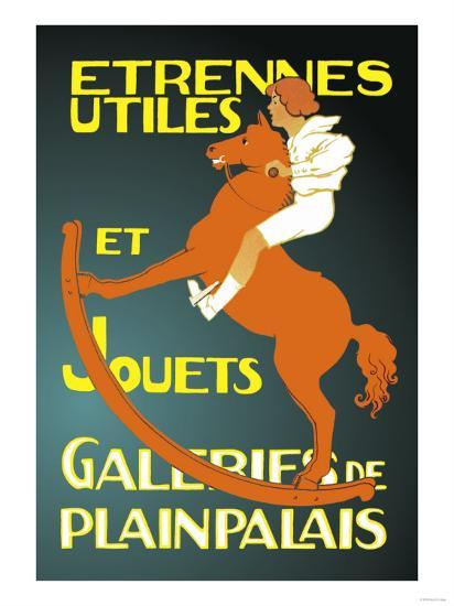 Galeries de Plainpalais: New Year's Gifts and Toys--Art Print