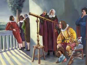 Galileo and Milton in Obseratory