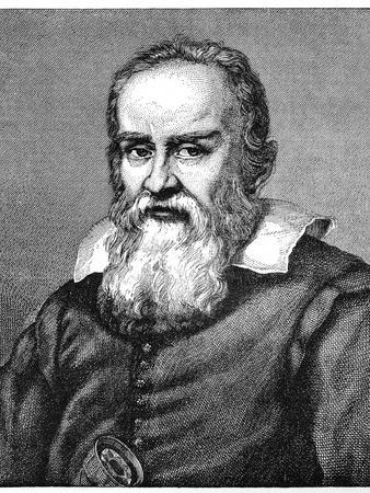 Galileo Galilei (1564-164), 1882-Justus Sustermans-Giclee Print