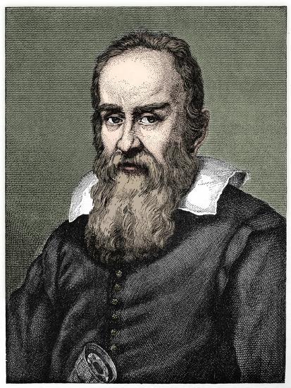 Galileo Galilei (1564-1642), 1882-Unknown-Giclee Print