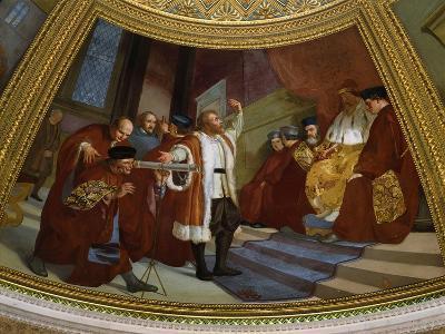 Galileo Galilei, 1564-1642, Italian Astronomer and Mathematician--Giclee Print