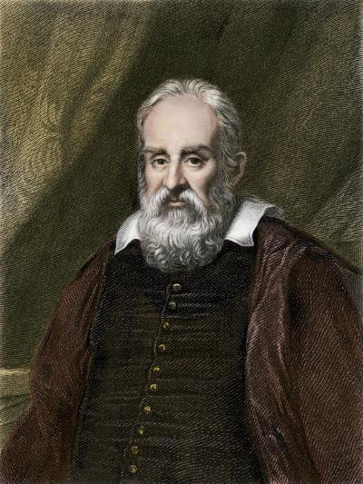 Galileo Galilei, Astronomer--Giclee Print
