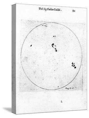 Galileo's Observation of Sunspots, 1613