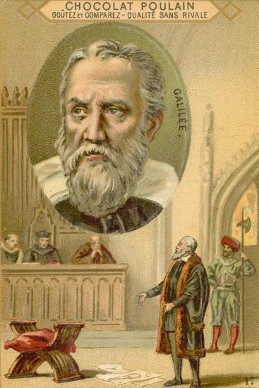 Galileo Galilei, Italian Physicist, Mathematician and Astronomer--Giclee Print
