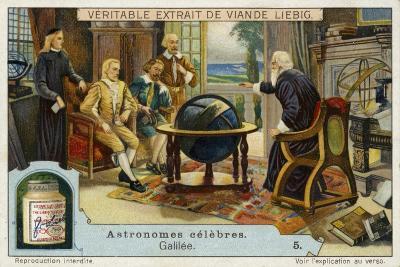 Galileo Galilei Italian Physicist, Mathematician and Astronomer--Giclee Print