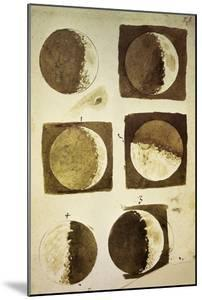 Sidereus Nuncius (Starry Messenger) with Drawings of Phases and Surface of Moon by Galileo Galilei