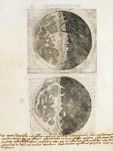 Sidereus Nuncius (Starry Messenger) with Drawings of the Phases and Surface of the Moon by Galileo Galilei