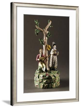 Gallant Group, Circa 1800--Framed Giclee Print