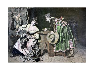 Gallant Remarks, 1893-Ferdinand Roybet-Giclee Print