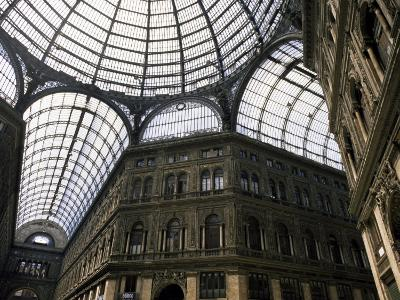 Galleria Umberto, Shopping Arcade, Naples, Campania, Italy-Ken Gillham-Photographic Print