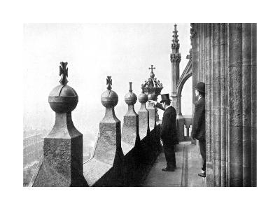 Gallery Above the Clock Face, Big Ben, Palace of Westminster, London, C1905--Giclee Print
