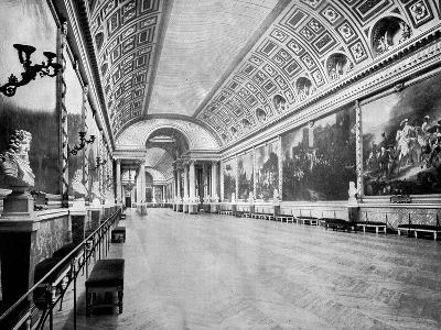 Gallery of Battles, Versailles, France, 1893-John L Stoddard-Giclee Print