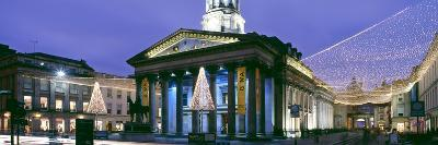 Gallery of Modern Art with Christmas Decorations, Glasgow City Centre, Glasgow, Scotland--Photographic Print