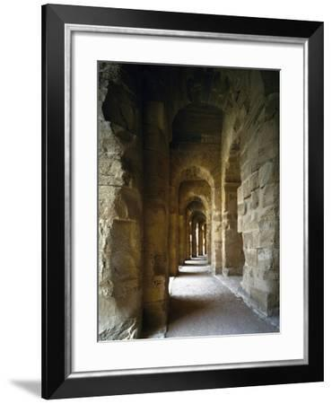 Gallery on Ground Floor of Amphitheatre--Framed Giclee Print