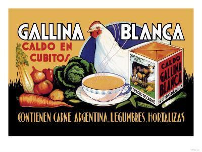Gallina Blanca--Art Print