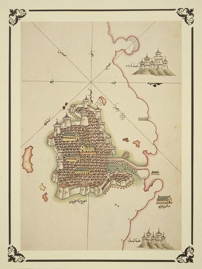 Gallipoli and Coast of Salento-Piri Reis-Giclee Print