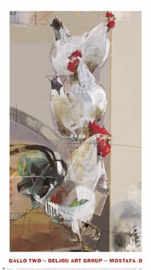 Gallo II- Mostafa-Art Print