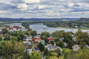 Marietta Oh And Ohio River by Galloimages Online