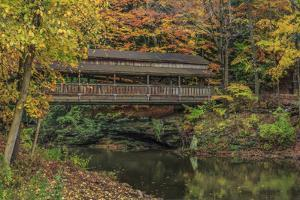 Mill Creek Covered Bridge 2 by Galloimages Online