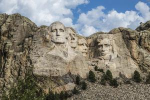 Mount Rushmore In Day by Galloimages Online