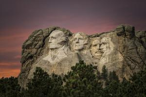 Mount Rushmore by Galloimages Online
