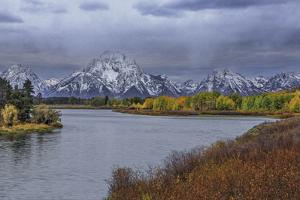 Oxbow Bend Fall 2013 by Galloimages Online