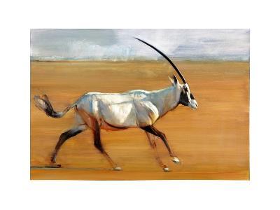 Galloping Oryx, 2010-Mark Adlington-Giclee Print
