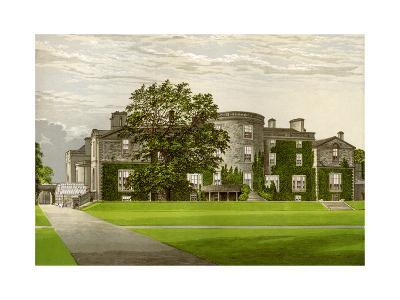 Galloway House, Wigtownshire, Scotland, Home of the Earl of Galloway, C1880-AF Lydon-Giclee Print