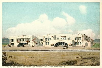 Gallup Train Station--Art Print