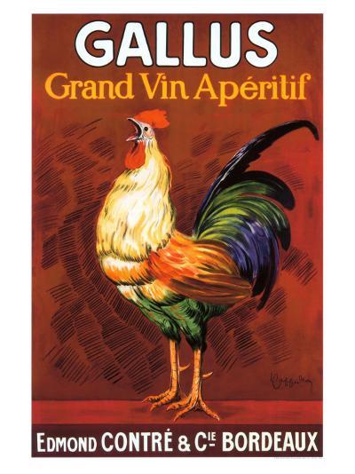 Gallus, Grand Vin Apertif--Giclee Print