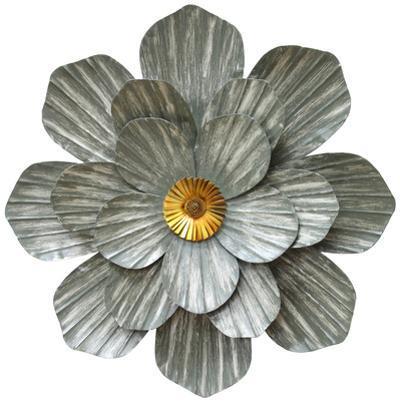 Galvanized Flower