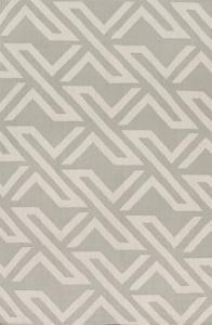 """Galvany Area Rug - Light Gray/Ivory 5' x 7'6"""""""