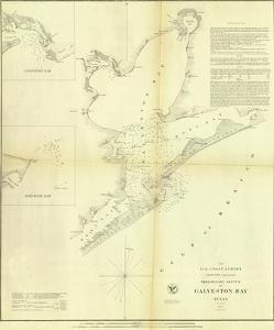 Galveston Bay, Texas, c.1852