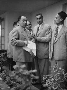 Gamal Abdul Nasser of Egypt Attending the Bandung Conference
