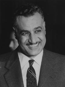 Gamal Abdul Nasserduring United Nation General Assembly Meeting