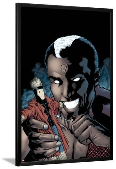Gambit No.9 Cover: Brother Voodoo-Georges Jeanty-Lamina Framed Poster