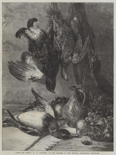 Game and Fruit-William Duffield-Giclee Print